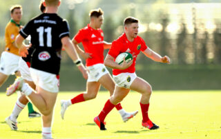 Patrick Campbell scored a hat-trick against Ulster last week.