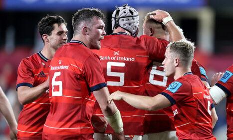 Report | Munster Start Season With Bonus-Point Win Over Sharks