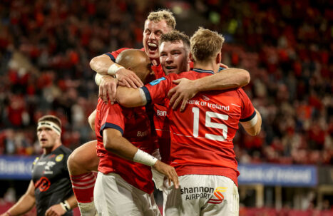 Munster face Connacht in the season