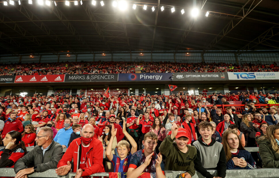 Munster are back at Thomond Park on Saturday night.