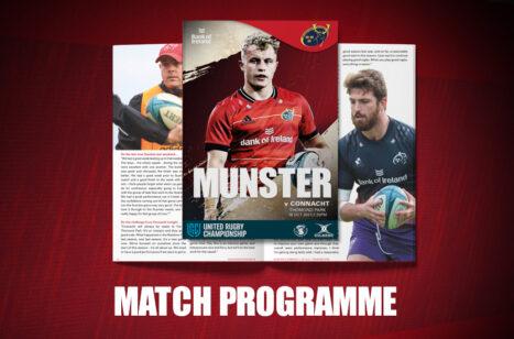 Connacht Match Programme