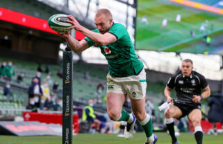 Keith Earls is named in the Ireland squad.