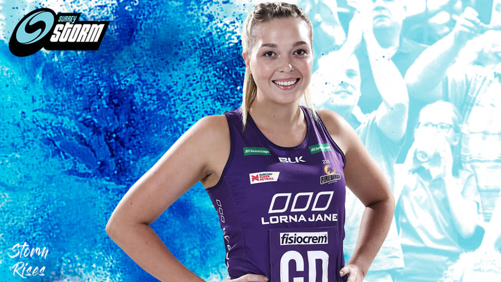 Storm re-sign Leah Middleton for 2021 Superleague campaign