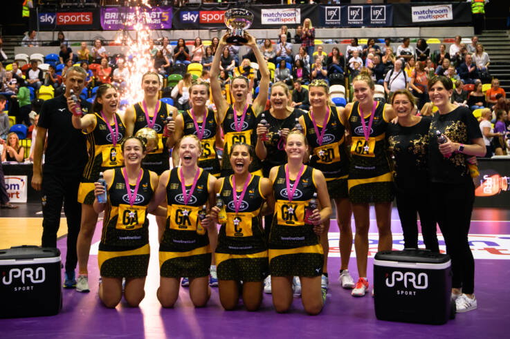 Excitment building for British Fast5 Netball All-Stars Championship