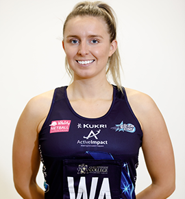 Ellie Gibbons of Severn Stars.
