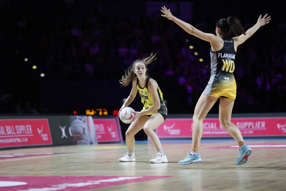Manchester Thunder come out on top over Wasps Netball