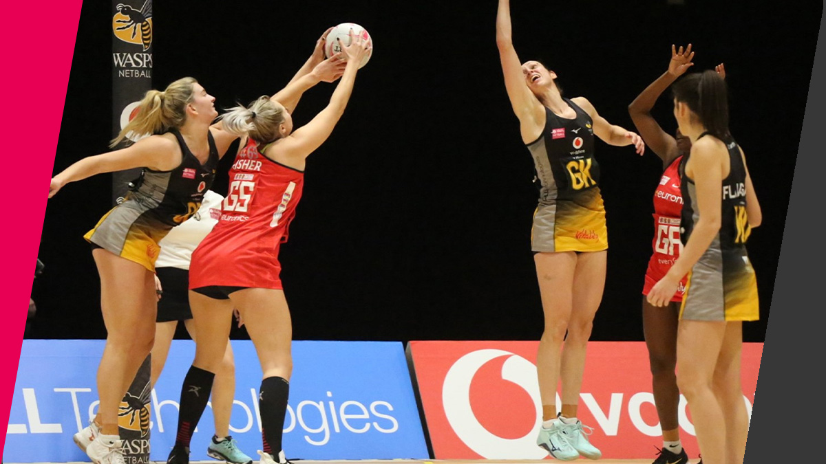 Vitality Netball Superleague | Wasps secure first win of ...