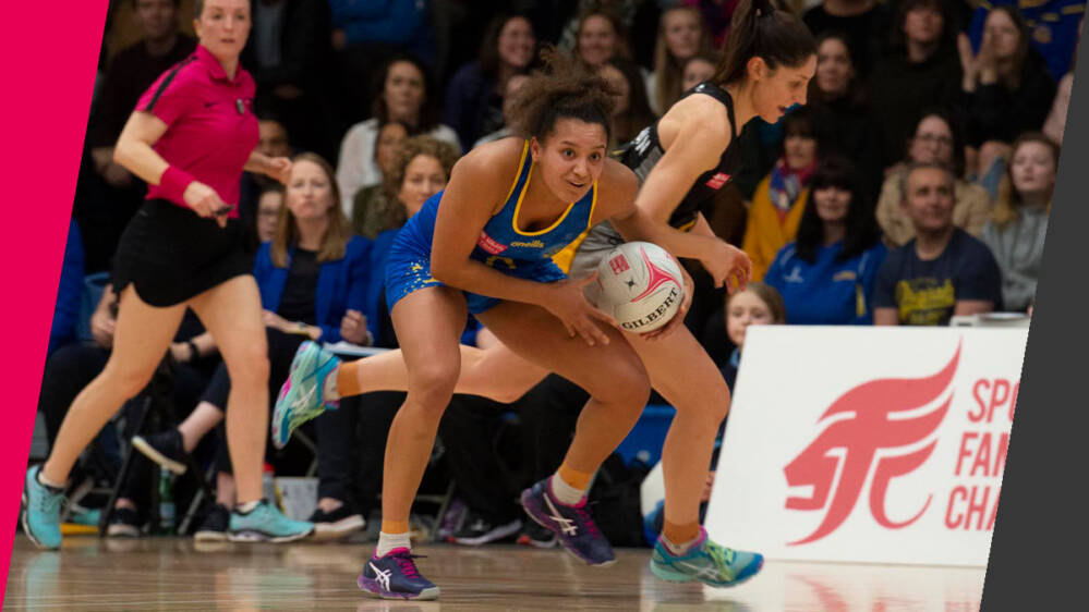 A stunning second-half performance sees Team Bath Netball stun Wasps Netball