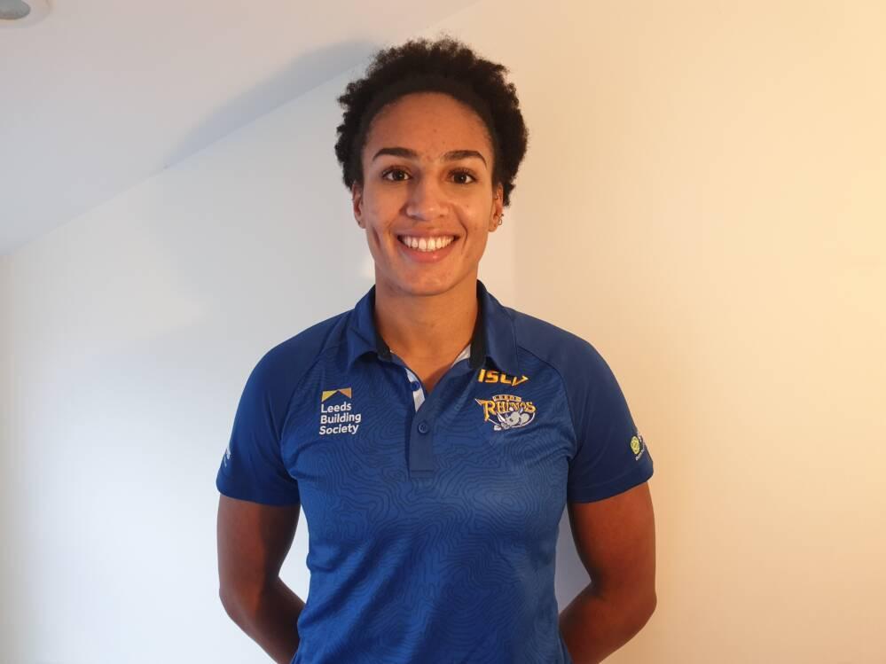 Vicki Oyesola of Leeds Rhinos Netball.