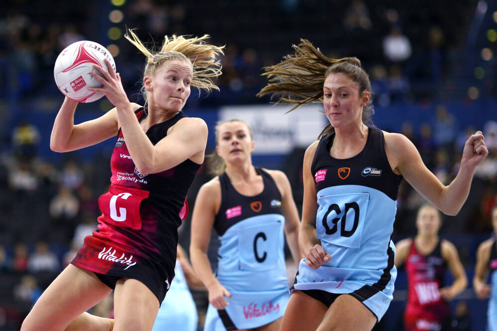 Claire Maxwell of Strathclyde Sirens.