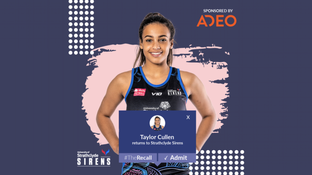 Cullen set for second season at Sirens