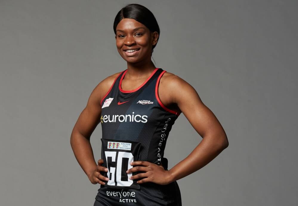 Jodie Gibson of the Vitality Roses and Saracens Mavericks.