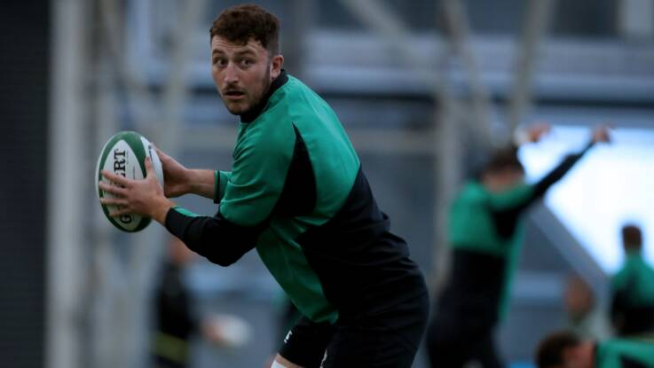 Connors and Keenan set for debuts as Farrell names Ireland team