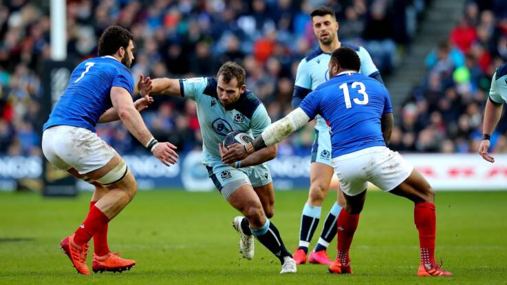 Brown named as Scotland captain and Van der Merwe to debut in warm-up match