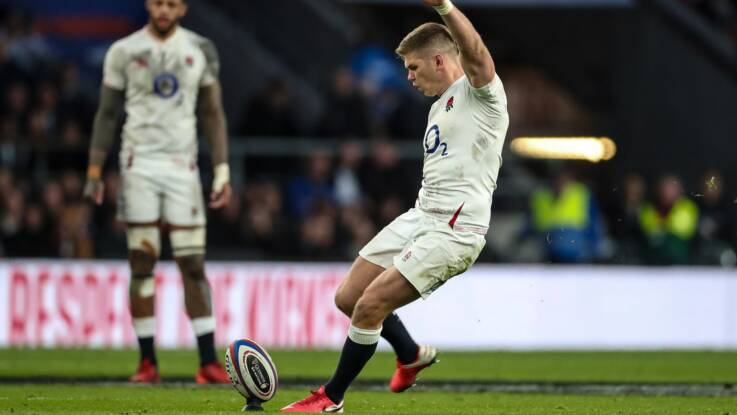 Farrell hails brave England after Italy win