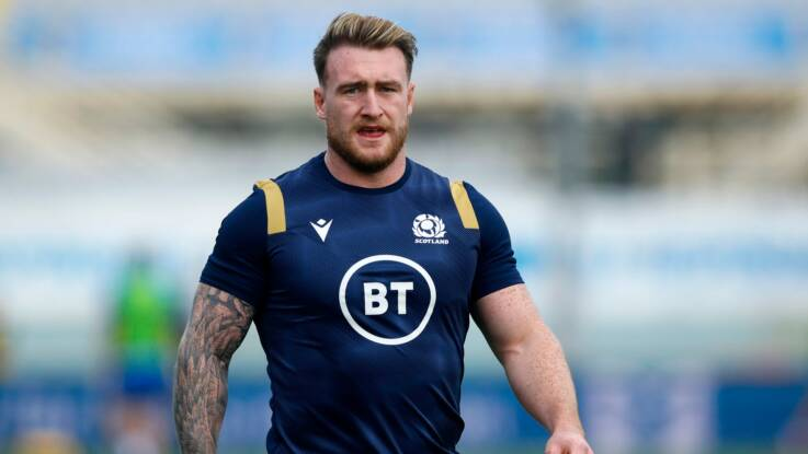 Hogg excited for Autumn Nations Series challenge