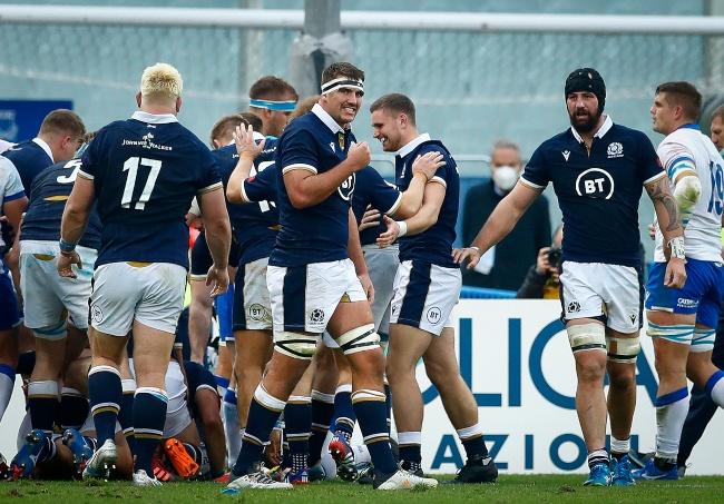 Scotland announce 36-man training squad ahead of Autumn Nations Series