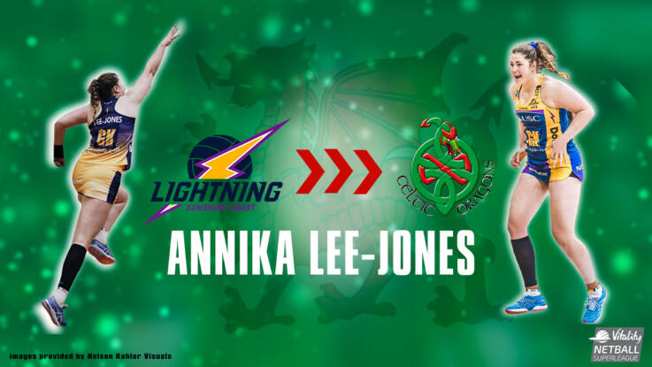 Annika Lee-Jones to Join Celtic Dragons from Australia's Sunshine Coast Lightning