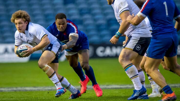 Weir takes heart from Scottish showing despite France defeat