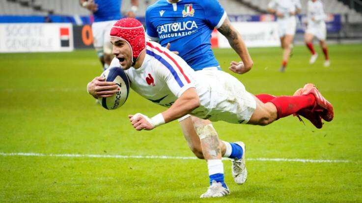 Second-half blitz sees much-changed France beat Italy to win Group B