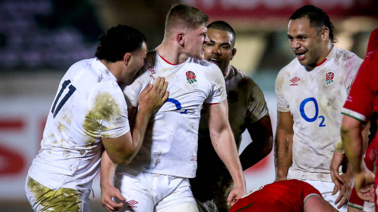 England win battle at the breakdown: The weekend in numbers