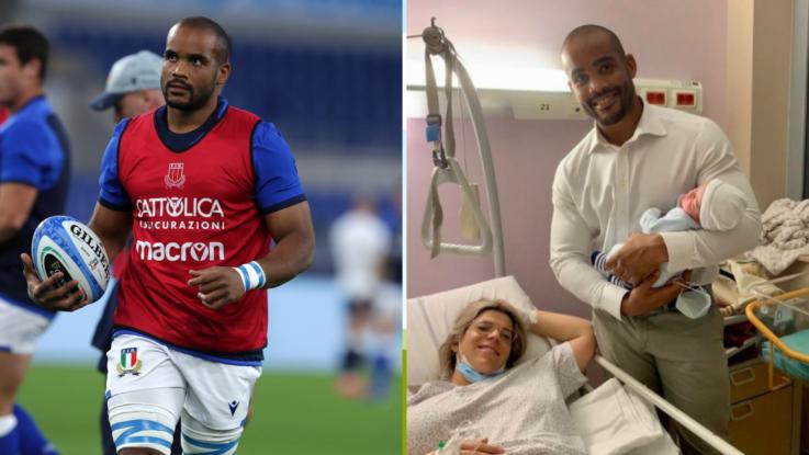 Italy hero Mbanda welcomes first child