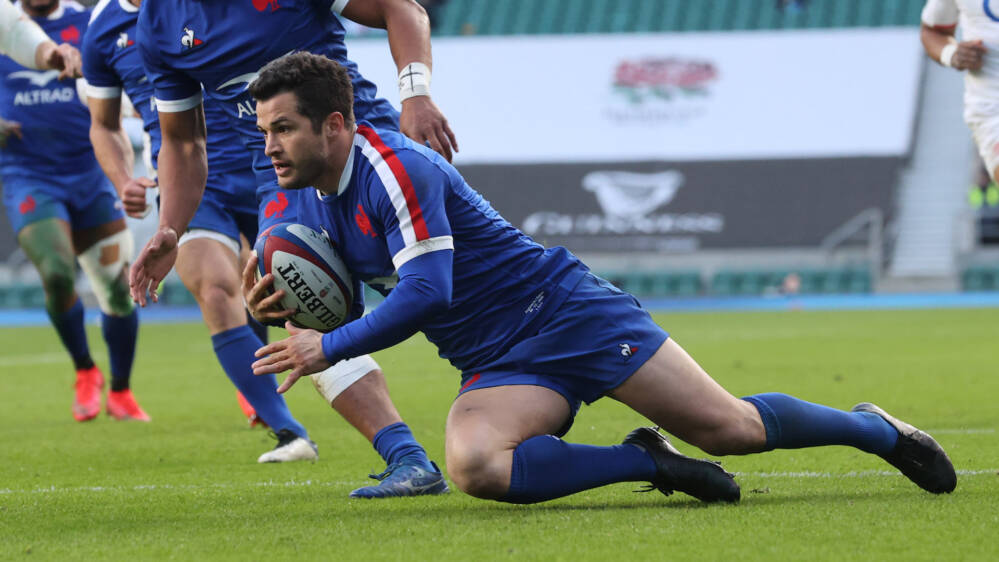 France's Brice Dulin voted Player of the Tournament