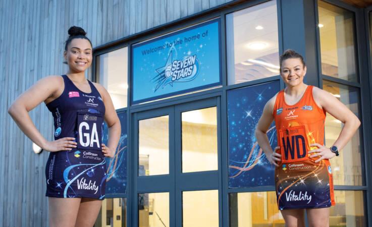 Severn Stars' new kit reveals innovative charity partnership