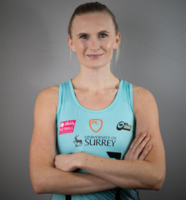 Ashleigh Jay of Surrey Storm.