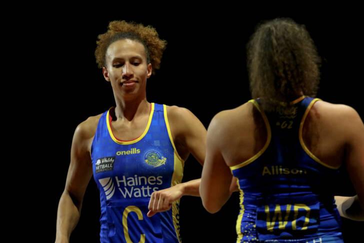 Vitality Netball Superleague | Eboni Usoro-Brown has ...
