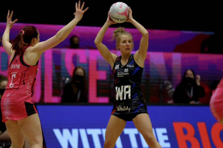 Strathclyde Sirens continue winning run with victory over London Pulse