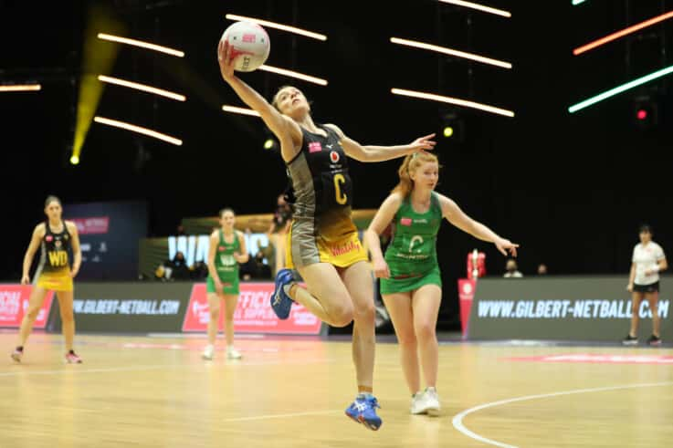 Iona Christian of Wasps against Celtic Dragons.