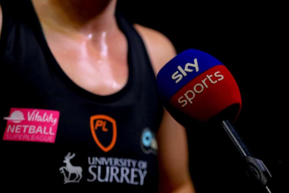 Where to Watch the Vitality Netball Superleague on Sky Sports.