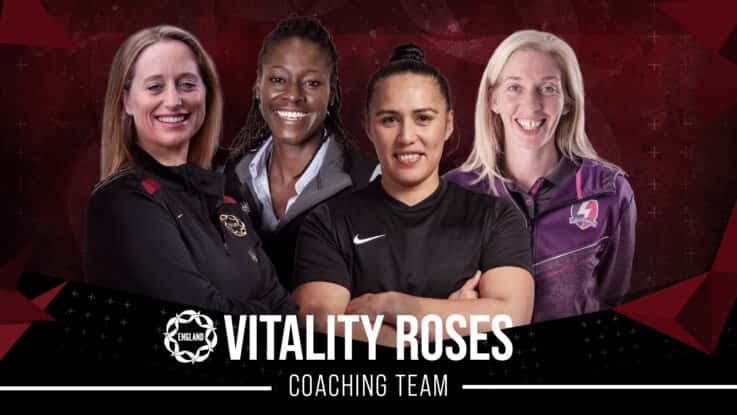 Liana and Murphy will now coach the Vitality Roses.