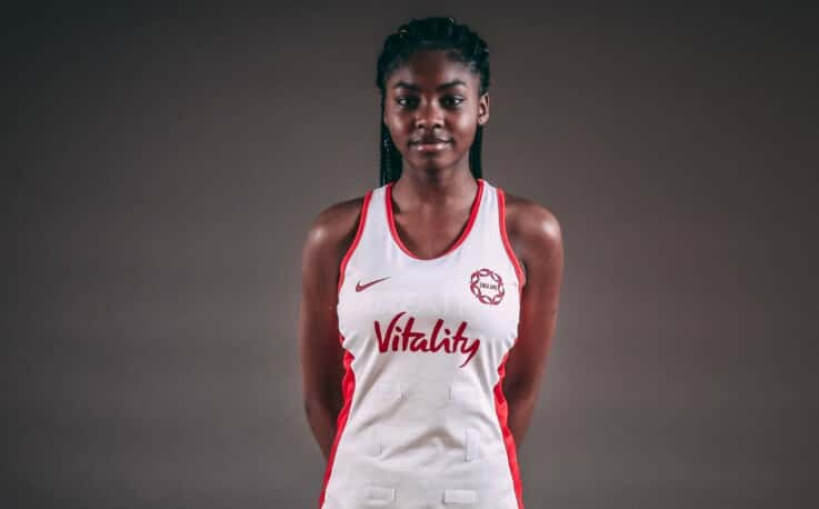 Peace Akinyemi of London Pulse and Roses Academy.