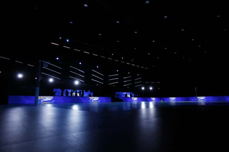 Leeds Rhinos LEDs (Ben Lumley)