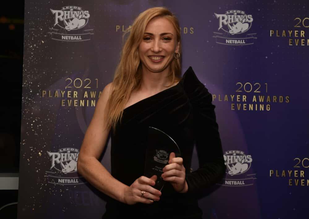 Jade Clarke wins award.
