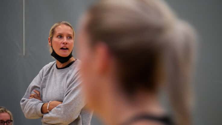 Tamsin Greenway is Head Coach of Scottish Thistles.