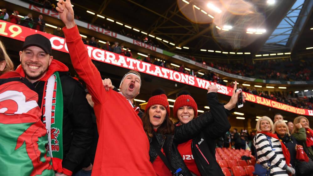 Wales fans ticket