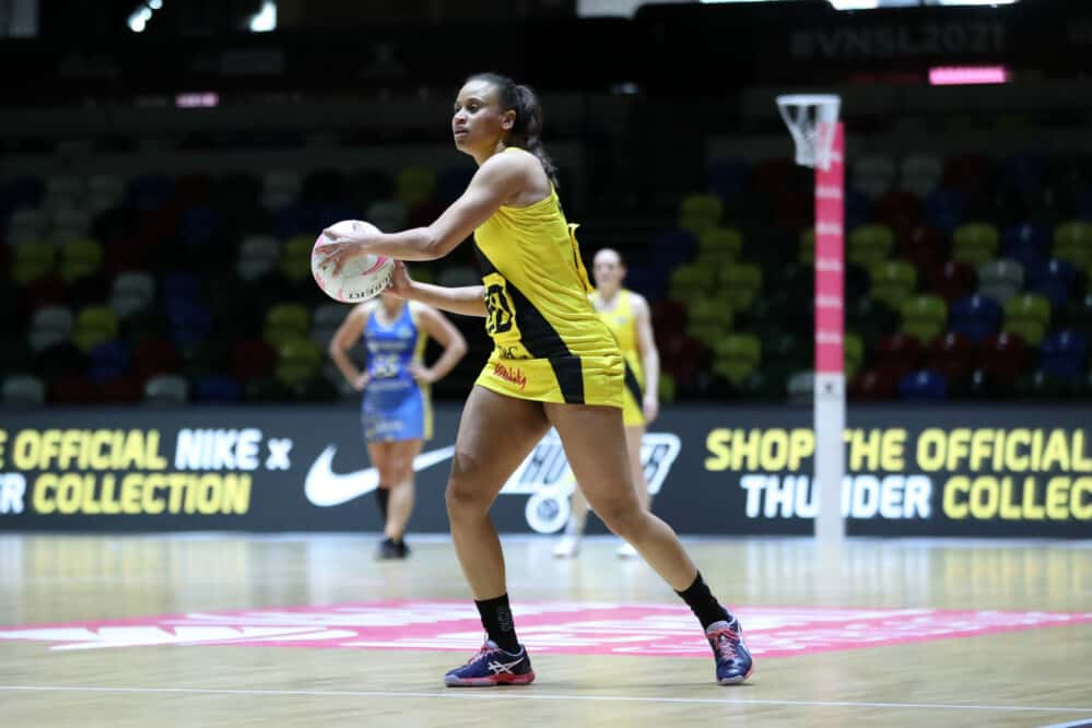 Laura Malcolm of Manchester Thunder.