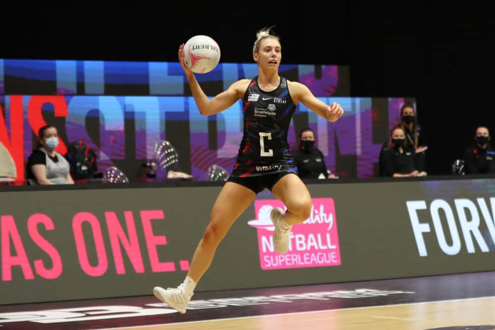 Gia Abernethy of Strathclyde Sirens.