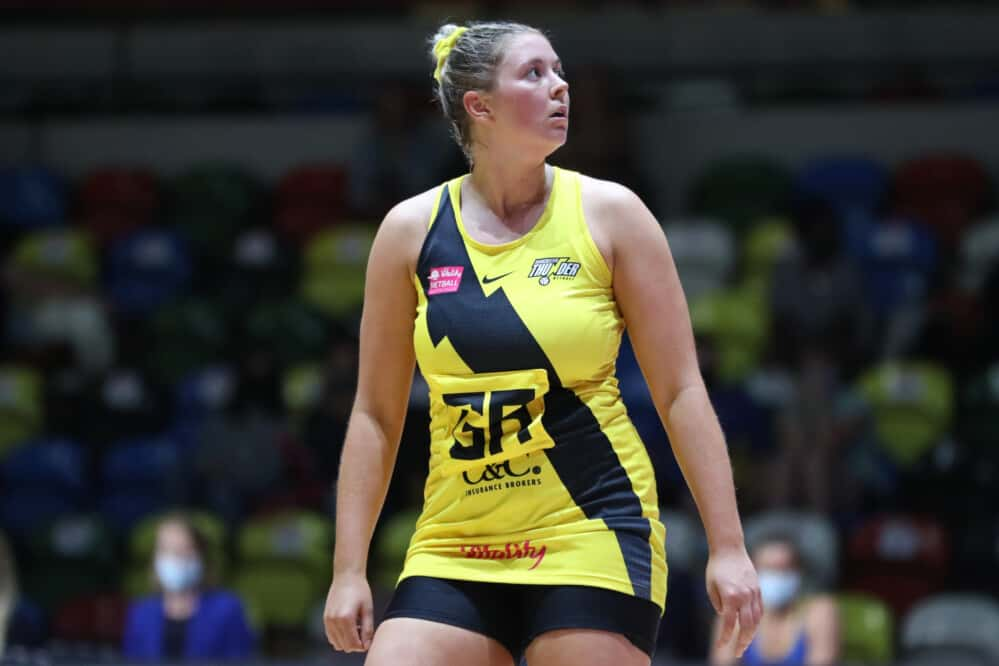 Eleanor Cardwell of Manchester Thunder.