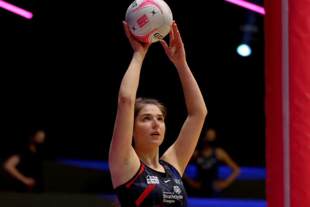Bethan Goodwin of Strathclyde Sirens.