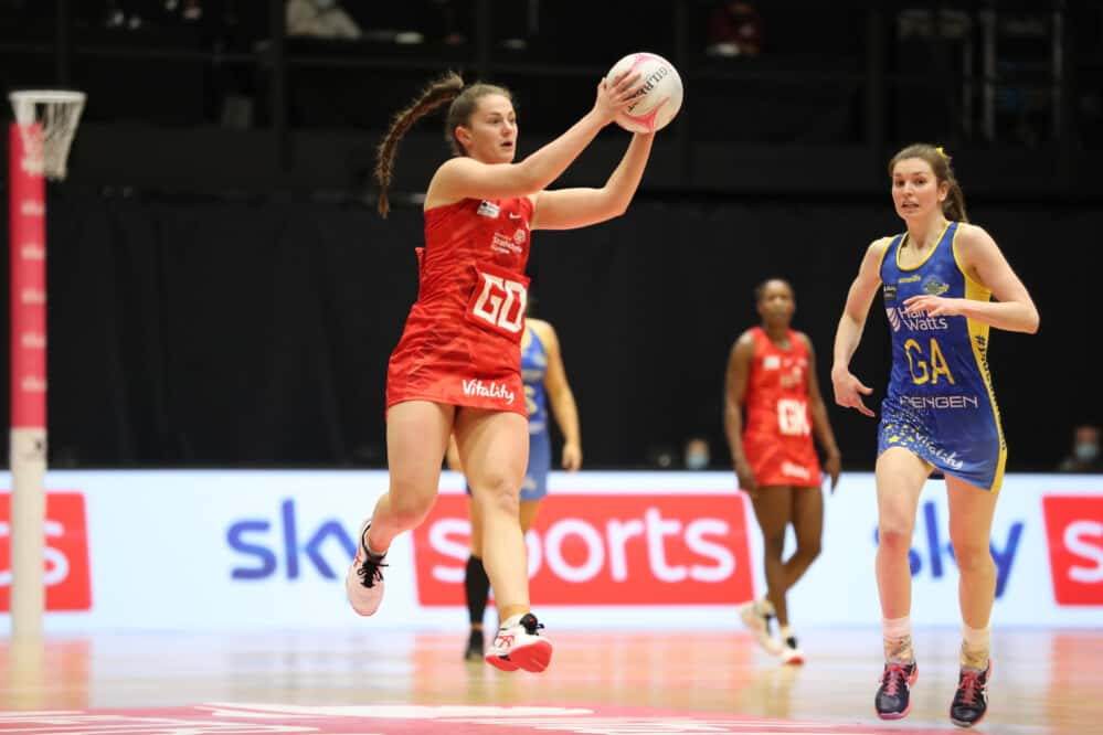Emily Nicholl of Strathclyde Sirens.