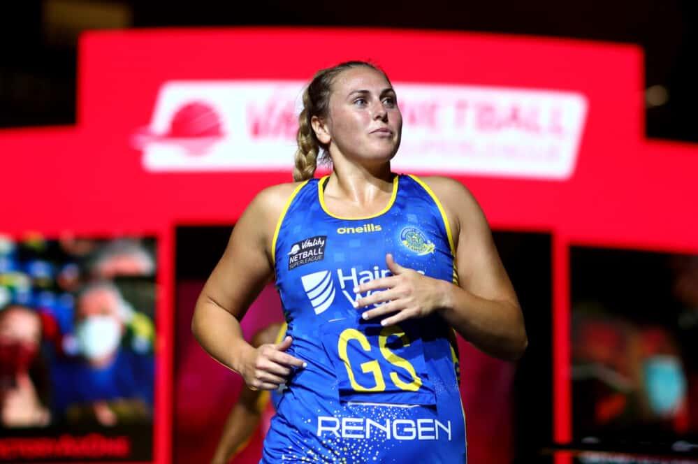 Kim Borger of Team Bath Netball.