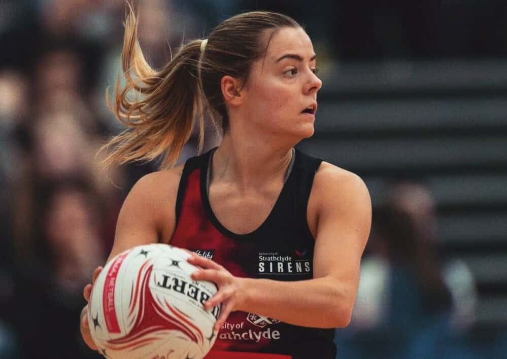 Kelly Boyle of Strathclyde Sirens.