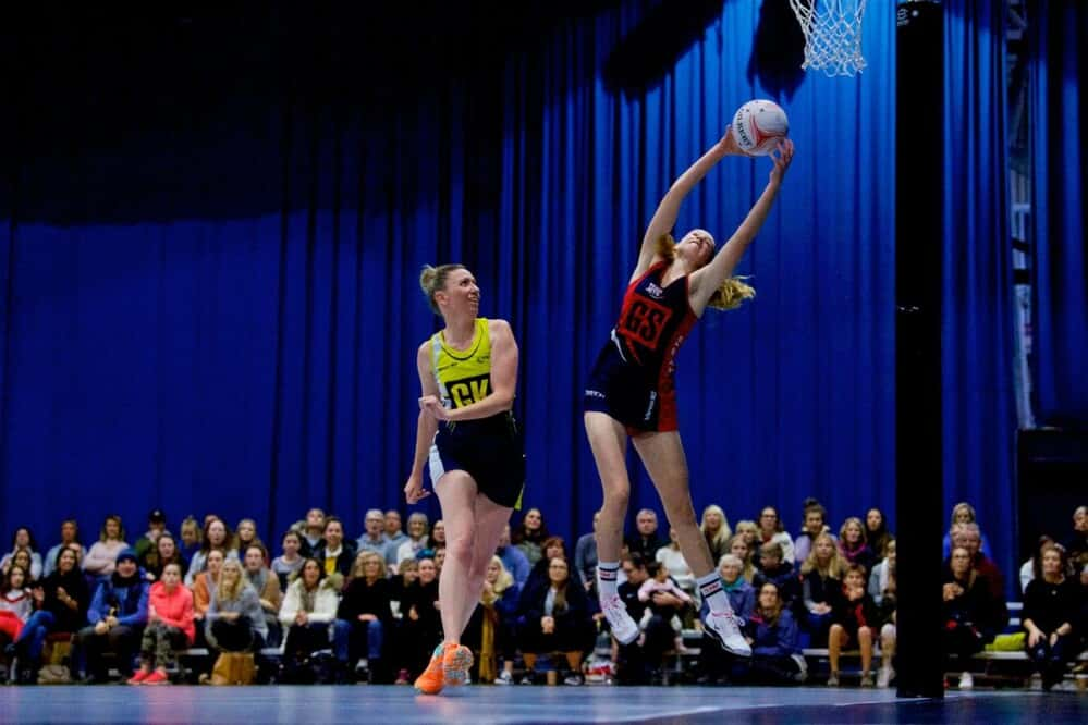Lily Jones made her senior debut for Team Jets at the age of 15, before leaving Jersey to further her netball career Picture: ROB CURRIE