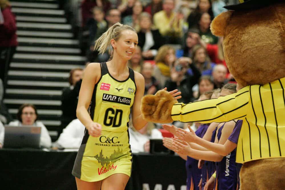 Emma Dovey for Manchester Thunder