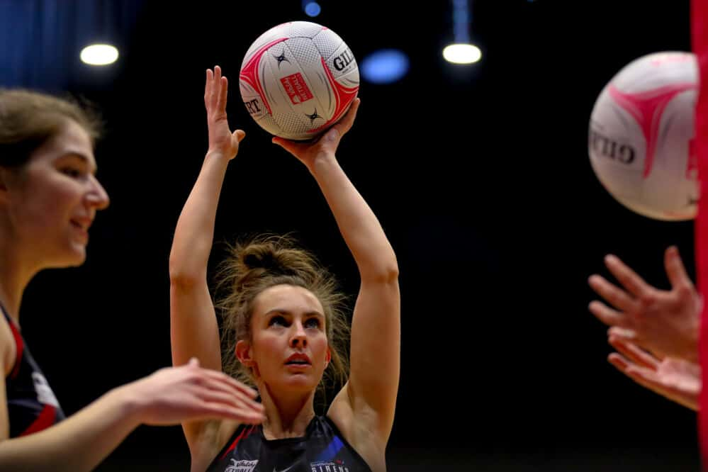 Lynsey Gallagher of Strathclyde Sirens.