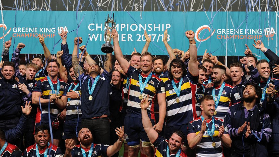 Bristol win the 17/18 Championship